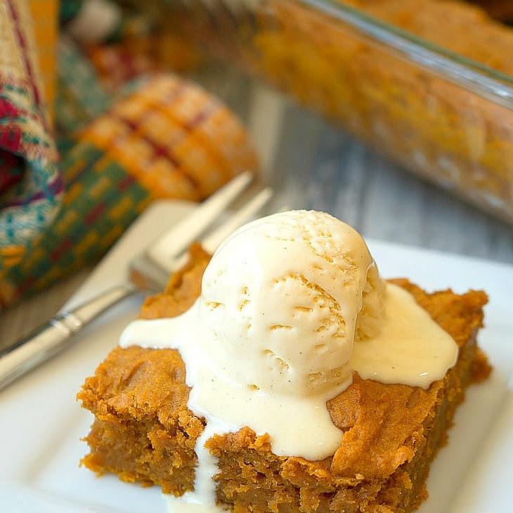 Easy Pumpkin Pudding Cake Recipe
