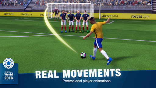 FreeKick Soccer World 2018 1.6.6 gameplay | by HackJr.Pw 4