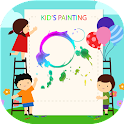Kids Painting Coloring Free icon