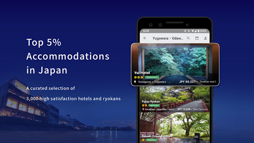 Relux - A hotel and Ryokan booking application ss2