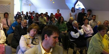 Photo: 2011. április 17-én, virágvasárnapon a PTF utazó csapata szolgált közöttünk. Az Istentiszteletre több helyi és környékbeli Gyülekezetet is meghívtunk.