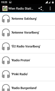 Wien Radio Stations - náhled