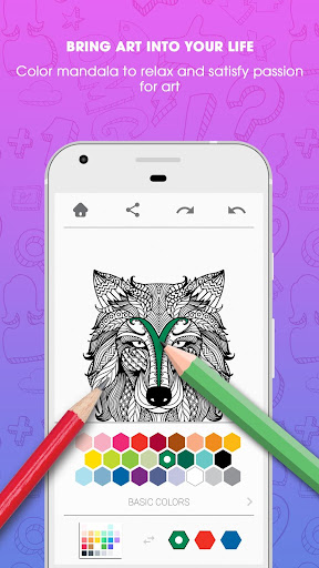 Colorfy Mandala Coloring Book Apps Apk Free Download For Android PC Windows