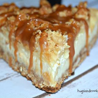 Caramel Apple Cheesecake.
