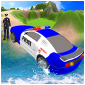 Police Car Off Road Driving 3D Simulator
