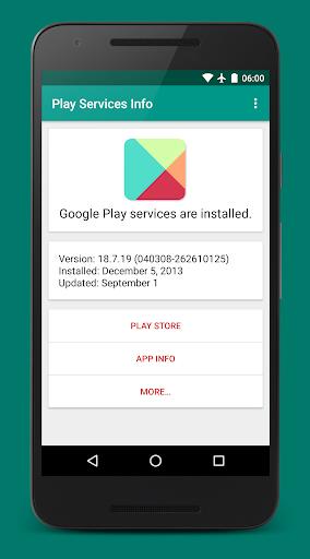 Play Services Info (Update) 0.15 Screenshots 4
