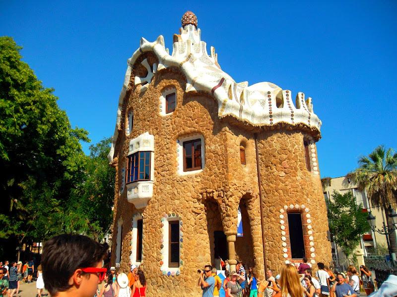 Viaggio alla casa di Gaudì di B.dina