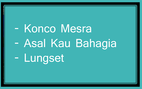 Bursa Lagu Dangdut Koplo - náhled