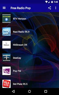 Rádio Zdarma Pop - náhled