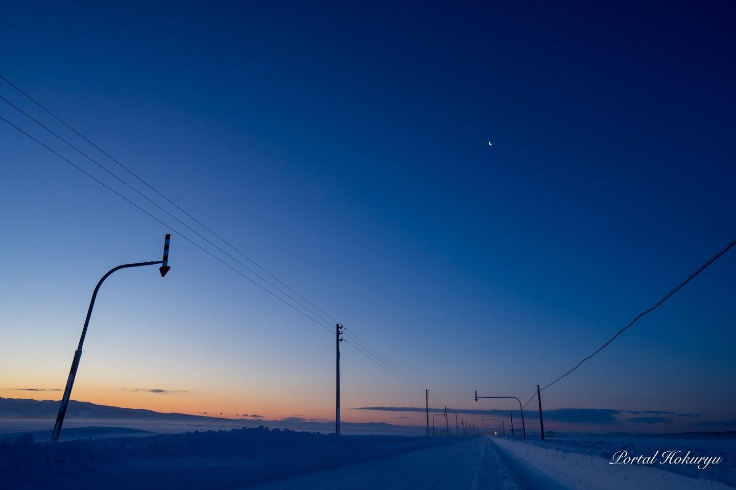 夜明け前のブルーモーメント