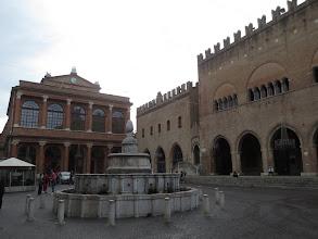 Photo: Piazza del Popolo in Pesaro, the center of all activity
