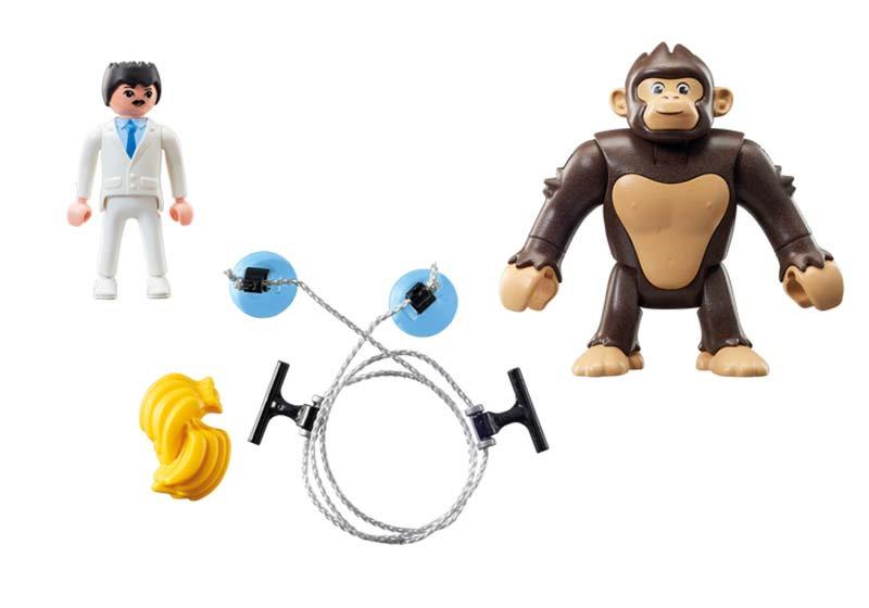 Contenido de Playmobil® 9004 Gorila Gigante Gonk