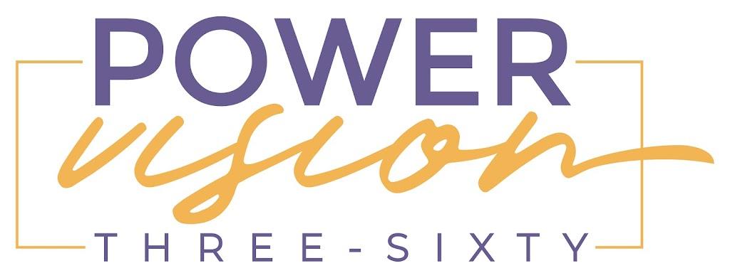 PowerVision360 Logo White Background