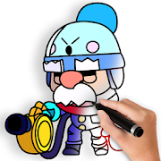 App Icon for How to Draw Brawl Stars App in Czech Republic Play Store