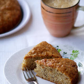 Eggless Banana Cake.