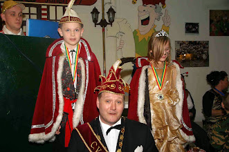 Photo: Prins Wiel +Jeugdprins en Jeugdprinses