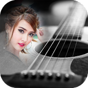 guitar photo frames costume montage editor