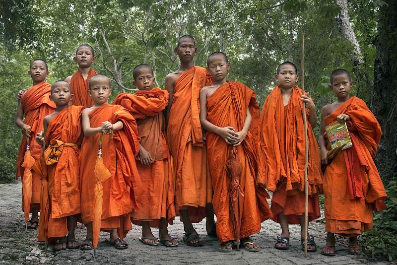 Giovani monaci di Roberto Pazzi Photography