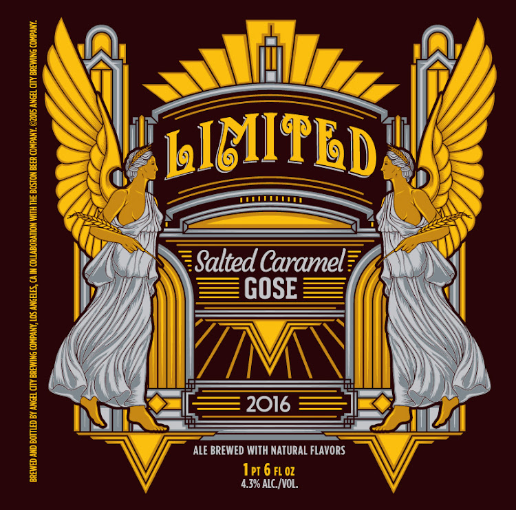 Logo of Angel City Salted Caramel Gose