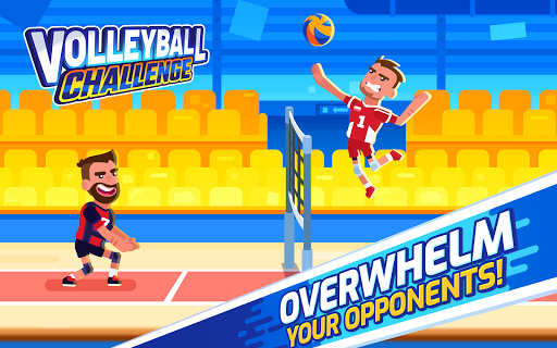Volleyball Challenge - volleyball game - screenshot