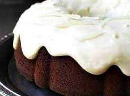 The Wicked Wench - Chocolate And Spiced Rum Cake With Spiced Rum Cream Cheese Frosting/glaze.