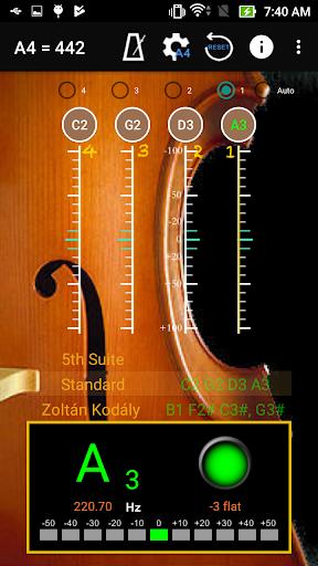 Cello Tuner &  Metronome ss1