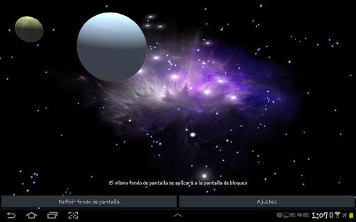 3D Galaxy Live Wallpaper 4K Full screenshot 16