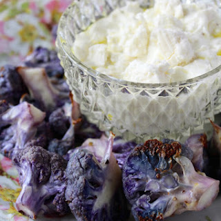 Roasted Cauliflower with Feta Crema Recipe