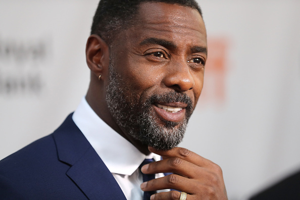 Actor Idris Elba at the premiere of 'The Mountain Between Us' during the 2017 Toronto International Film Festival.