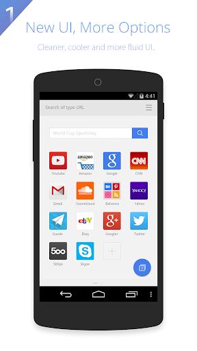 UC Browser HD screenshot 1