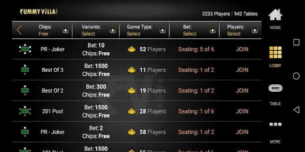 RummyVilla – Play Rummy Online Apk Latest Version Download For Android 4