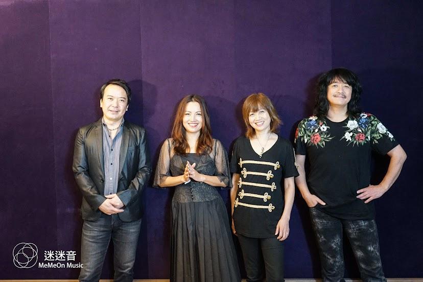 田村直美、宮崎步、松澤由美和福山芳樹 四位重量級動漫演唱人對