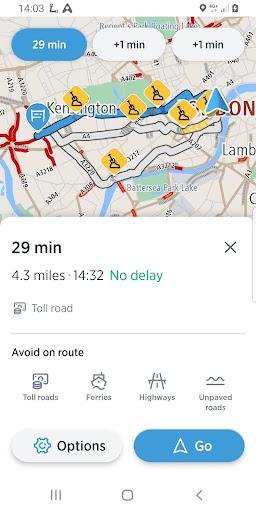 TomTom AmiGO - GPS, Speed Camera  & Traffic Alerts 7.268.0 screenshots 8