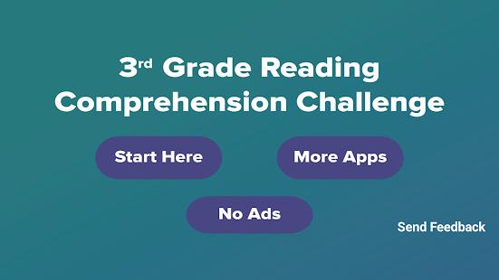 3rd Grade Reading Challenge - náhled