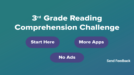 3rd Grade Reading Challenge - Apps on Google Play