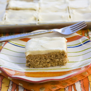 Carrot Cake Cookie Bar