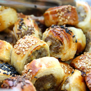 Sausage Bites With Pine Nuts