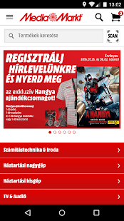 Media Markt Hungary- screenshot thumbnail