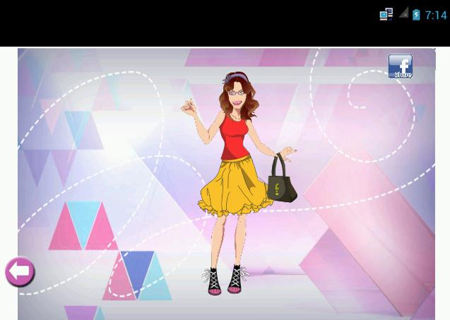 Violetta Dress up Games- screenshot