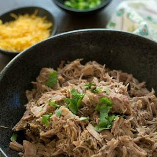 Easy 5 Ingredient Slow Cooker Pulled Pork.