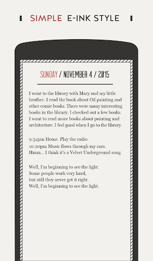 Screenshot for DayGram - One line a day Diary in United States Play Store