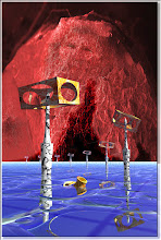 Photo: 2005 10 21 - R 05 03 27 688 w - D 063 - Würfel im Ozean