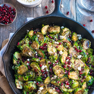 Balsamic Brussels Sprouts.