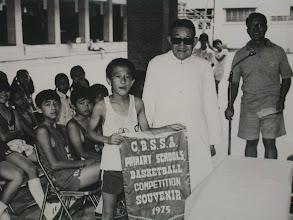 Photo: 喇沙校聯籃球比賽在本校舉行本校得冠軍07