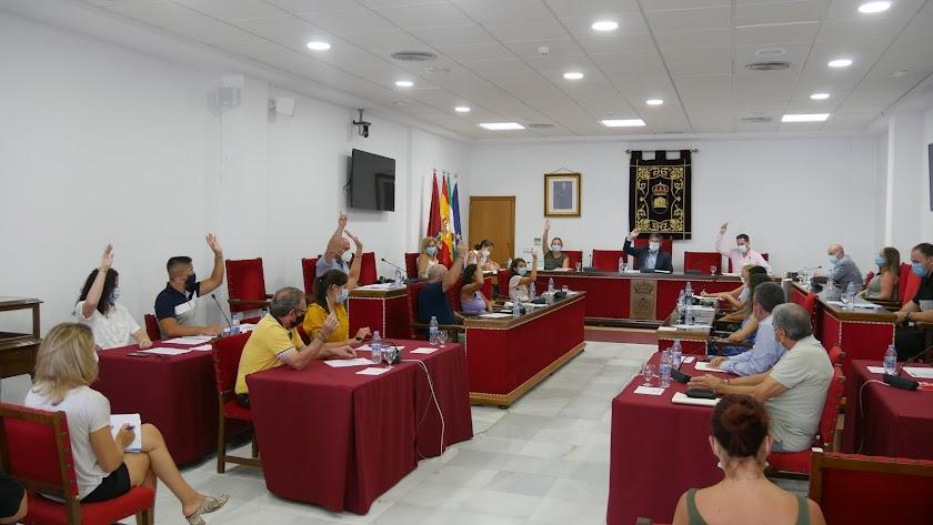 Imagen de la sesión plenaria.