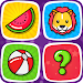 Memory Game for Kids : Animals, Preschool Learning icon