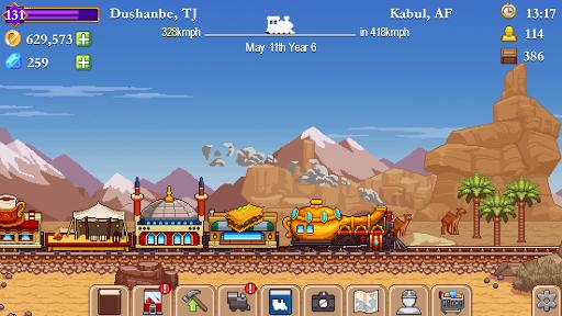 Code Triche Tiny Rails  APK MOD (Astuce) screenshots 3