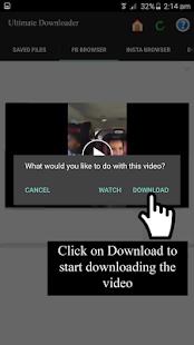 Video Download for Facebook and Instagram - náhled
