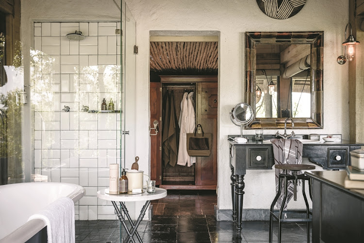 The stylish rooms at Singita Ebony Lodge were designed by Cecil & Boyd.