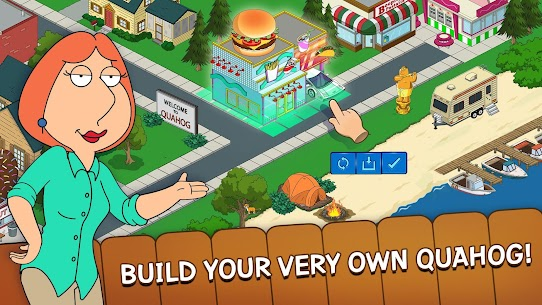 Family Guy The Quest for Stuff MOD APK 4.1.2 (Free Shopping) 3